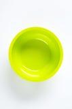 Bright green bowl Royalty Free Stock Photography
