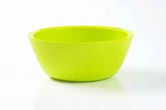 Bright green bowl Royalty Free Stock Images