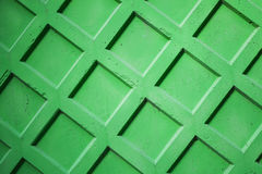 Bright green concrete fence wall Royalty Free Stock Image
