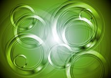 Bright green design Royalty Free Stock Images