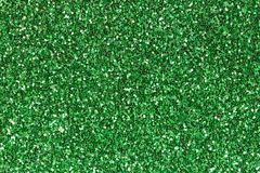 Bright green ethylene vinyl acetate EVA with glitter. stock images