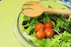 Bright green fresh salad Royalty Free Stock Images