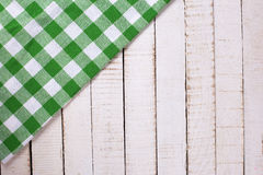 Bright  green  kitchen towel Stock Image