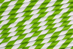 Bright green paper straw background Royalty Free Stock Photography