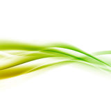 Bright green speed swoosh line abstract modern layout. Vector illustration Royalty Free Stock Photos
