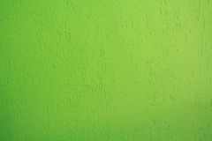 Bright green stucco wall Royalty Free Stock Photography