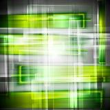 Bright green vector backdrop Stock Photography