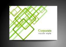 Bright green vector design Stock Image