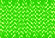 Bright green waves background Stock Photo