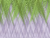 Bright grey fractal background with green crossed lines. Bright grey fractal background with green curved and crossed lines Stock Image