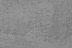 Bright Grey Grunge Plastered Wall Stucco Texture, Horizontal Detailed Natural Scratch Grungy Gray Coarse Rustic Textured stock image