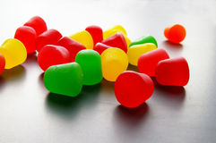Bright gumdrops Royalty Free Stock Image
