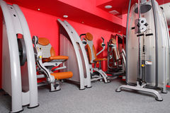 Bright gym with a lot of windows Royalty Free Stock Photos