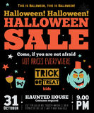 Bright Halloween hot sale card Royalty Free Stock Photography