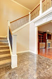Bright hallway with staircase Royalty Free Stock Photos