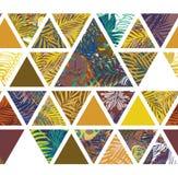 Bright hawaiian pattern Royalty Free Stock Images