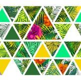 Bright hawaiian pattern Stock Images