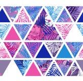 Bright hawaiian pattern Stock Image