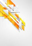 Bright hi-tech geometry background Stock Photography