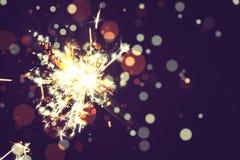 Free Bright Holiday Sparkler Stock Photos - 135530753