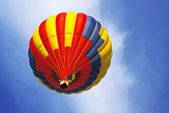 Bright hot air balloon Royalty Free Stock Images
