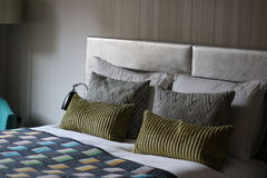 Bright hotel room in Scotland. This brightly lit hotel room in Edinburgh was a wonderful place to stay Stock Images