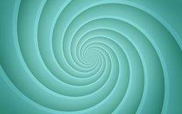 Bright ice blue smooth spinning spiral abstract background wallpaper illustration. High resolution computer generated vector abstract background illustration royalty free illustration