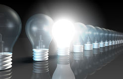 Bright Idea stock illustration
