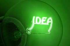 Bright idea Royalty Free Stock Photography