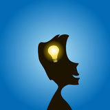 Bright Idea royalty free stock images