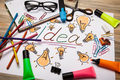 Free Bright Idea Royalty Free Stock Photo - 42497245