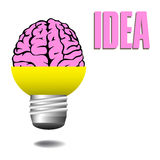Bright idea Royalty Free Stock Photo