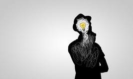 Bright idea Stock Photography