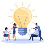 Bright idea concept royalty free stock photo