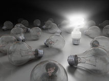 Bright idea Royalty Free Stock Image