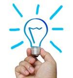 Bright idea concept Stock Photography