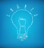Bright idea concept Stock Images