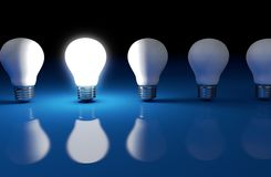 Bright Idea Creative Business Solution Stock Photo