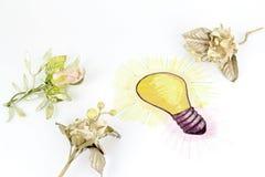 Bright Idea of gift Stock Image