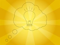 A Bright Idea  Illustration Stock Image