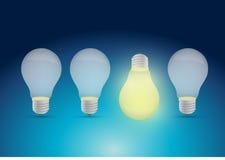 Bright idea illustration design Stock Photo