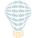 Bright idea light bulb invention symbol royalty free stock photo