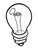 Bright Idea Light Bulb vector Stock Photo