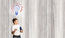 Bright idea Stock Photo