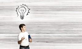 Bright idea Royalty Free Stock Photos