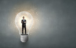 Bright idea! Royalty Free Stock Photos