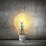 Bright idea! Royalty Free Stock Image