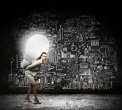 Bright idea Stock Images