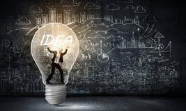 Bright idea! Stock Image