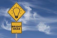Bright Ideas Stock Photos